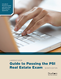 Guide to Passing the PSI Real Estate Exam 7th Edition