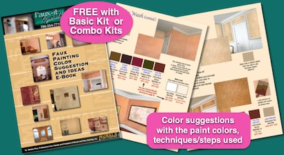 faux painting color suggestions e-book